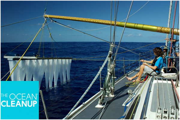 Anova supports the Ocean Cleanup